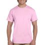 Hanes Mens EcoSmart Short Sleeve Crewneck T-Shirt - Pale Pink