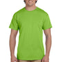 Hanes Mens EcoSmart Short Sleeve Crewneck T-Shirt - Lime Green