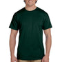 Hanes Mens EcoSmart Short Sleeve Crewneck T-Shirt - Deep Forest Green