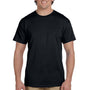 Hanes Mens EcoSmart Short Sleeve Crewneck T-Shirt - Black