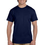 Hanes Mens EcoSmart Short Sleeve Crewneck T-Shirt - Navy Blue