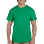 Hanes Mens EcoSmart Short Sleeve Crewneck T-Shirt - Kelly Green