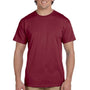 Hanes Mens EcoSmart Short Sleeve Crewneck T-Shirt - Cardinal Red