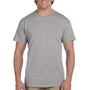 Hanes Mens EcoSmart Short Sleeve Crewneck T-Shirt - Oxford Grey