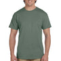 Hanes Mens EcoSmart Short Sleeve Crewneck T-Shirt - Heather Green