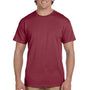 Hanes Mens EcoSmart Short Sleeve Crewneck T-Shirt - Heather Red