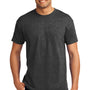 Hanes Mens EcoSmart Short Sleeve Crewneck T-Shirt - Heather Charcoal Grey