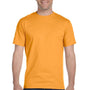 Hanes Mens Beefy-T Short Sleeve Crewneck T-Shirt - Gold