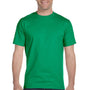 Hanes Mens Beefy-T Short Sleeve Crewneck T-Shirt - Kelly Green