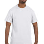Hanes Mens ComfortSoft Short Sleeve Crewneck T-Shirt - White