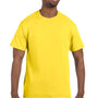Hanes Mens ComfortSoft Short Sleeve Crewneck T-Shirt - Yellow