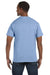 Hanes 5250T Mens ComfortSoft Short Sleeve Crewneck T-Shirt Light Blue Back