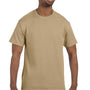 Hanes Mens ComfortSoft Short Sleeve Crewneck T-Shirt - Pebble