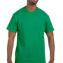 Hanes Mens ComfortSoft Short Sleeve Crewneck T-Shirt - Kelly Green