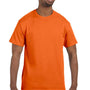 Hanes Mens ComfortSoft Short Sleeve Crewneck T-Shirt - Orange