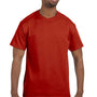 Hanes Mens ComfortSoft Short Sleeve Crewneck T-Shirt - Deep Red