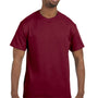 Hanes Mens ComfortSoft Short Sleeve Crewneck T-Shirt - Cardinal Red