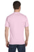Hanes 5280 Mens ComfortSoft Short Sleeve Crewneck T-Shirt Pale Pink Back
