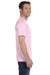 Hanes 5280 Mens ComfortSoft Short Sleeve Crewneck T-Shirt Pale Pink Side