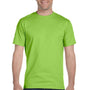 Hanes Mens ComfortSoft Short Sleeve Crewneck T-Shirt - Lime Green
