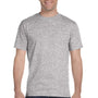 Hanes Mens ComfortSoft Short Sleeve Crewneck T-Shirt - Light Steel Grey