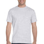 Hanes Mens ComfortSoft Short Sleeve Crewneck T-Shirt - Ash Grey