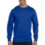 Hanes Mens ComfortSoft Long Sleeve Crewneck T-Shirt - Deep Royal Blue