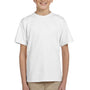 Hanes Youth EcoSmart Short Sleeve Crewneck T-Shirt - White
