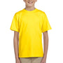 Hanes Youth EcoSmart Short Sleeve Crewneck T-Shirt - Yellow