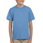 Hanes Youth EcoSmart Short Sleeve Crewneck T-Shirt - Carolina Blue