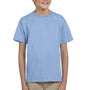 Hanes Youth EcoSmart Short Sleeve Crewneck T-Shirt - Light Blue