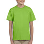 Hanes Youth EcoSmart Short Sleeve Crewneck T-Shirt - Lime Green