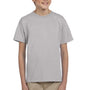 Hanes Youth EcoSmart Short Sleeve Crewneck T-Shirt - Light Steel Grey