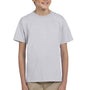 Hanes Youth EcoSmart Short Sleeve Crewneck T-Shirt - Ash Grey