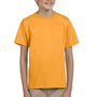 Hanes Youth EcoSmart Short Sleeve Crewneck T-Shirt - Gold