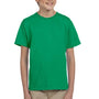 Hanes Youth EcoSmart Short Sleeve Crewneck T-Shirt - Kelly Green