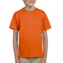 Hanes Youth EcoSmart Short Sleeve Crewneck T-Shirt - Orange
