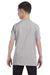 Hanes 54500 Youth ComfortSoft Short Sleeve Crewneck T-Shirt Light Steel Grey Back
