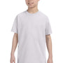 Hanes Youth ComfortSoft Short Sleeve Crewneck T-Shirt - Ash Grey