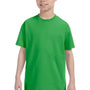 Hanes Youth ComfortSoft Short Sleeve Crewneck T-Shirt - Shamrock Green