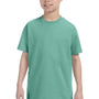 Hanes Youth ComfortSoft Short Sleeve Crewneck T-Shirt - Clean Mint Green