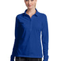 Nike Womens Stretch Tech Dri-Fit Moisture Wicking Short Sleeve Polo Shirt - Sapphire Blue