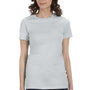 Bella + Canvas Womens Silver Grey The Favorite Short Sleeve Crewneck T-Shirt
