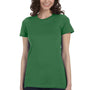 Bella + Canvas Womens Leaf Green The Favorite Short Sleeve Crewneck T-Shirt