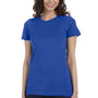 Bella + Canvas Womens True Royal Blue The Favorite Short Sleeve Crewneck T-Shirt