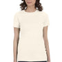 Bella + Canvas Womens Soft Cream The Favorite Short Sleeve Crewneck T-Shirt