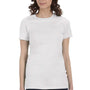 Bella + Canvas Womens Ash Grey The Favorite Short Sleeve Crewneck T-Shirt