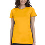 Bella + Canvas Womens Gold The Favorite Short Sleeve Crewneck T-Shirt