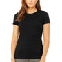 Bella + Canvas Womens Heather Black The Favorite Short Sleeve Crewneck T-Shirt