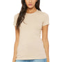 Bella + Canvas Womens Tan Brown The Favorite Short Sleeve Crewneck T-Shirt